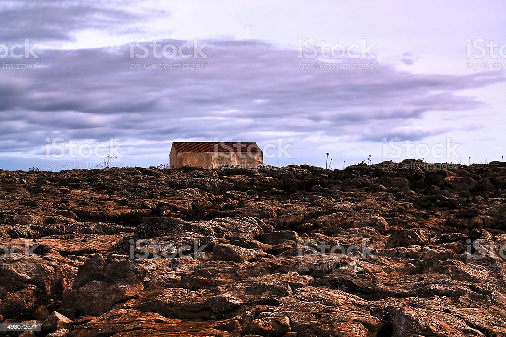 Fortaleza de Sagres stock photo