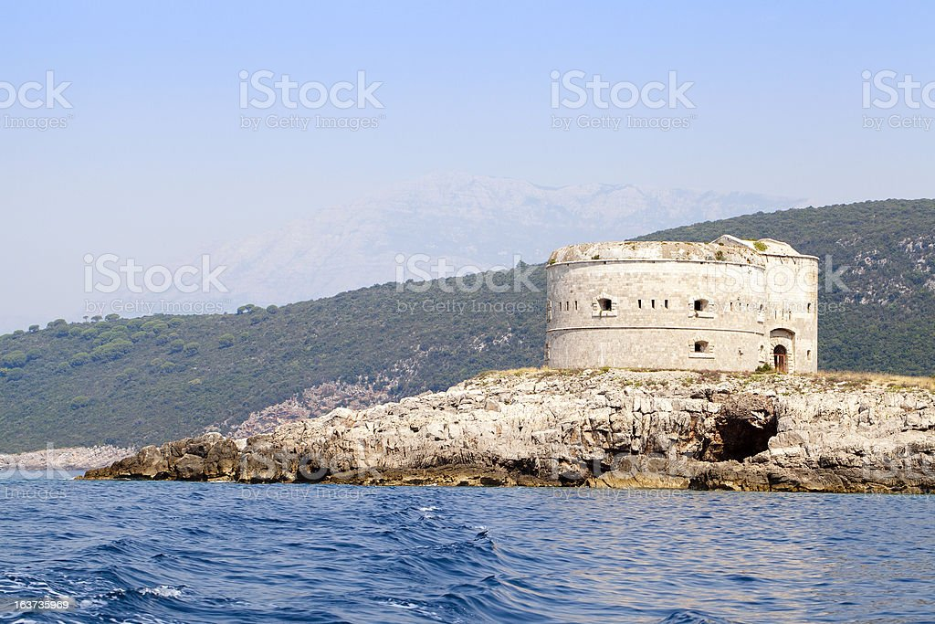 fortress stock photo
