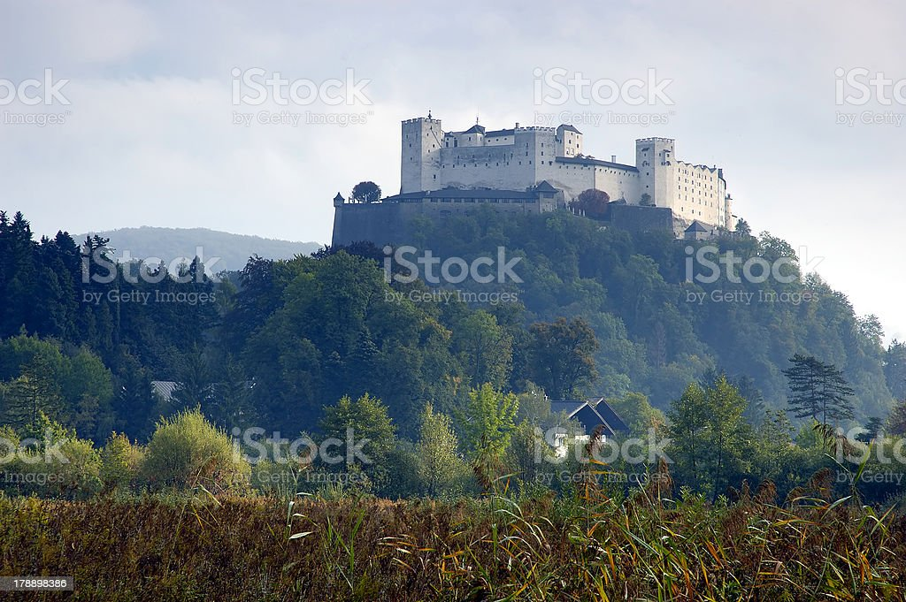 Hohensalzburg royalty-free stock photo