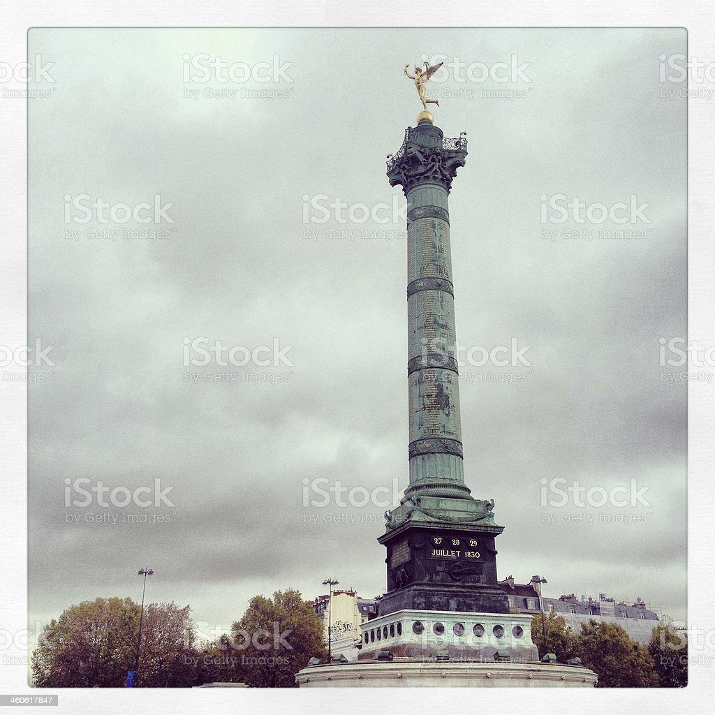 Bastille stock photo