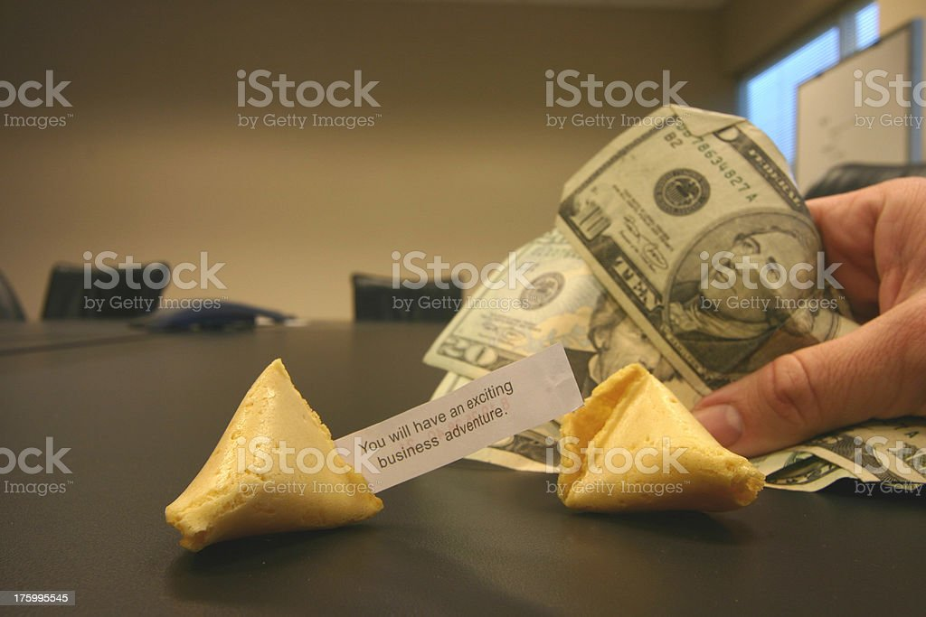Fortunate royalty-free stock photo