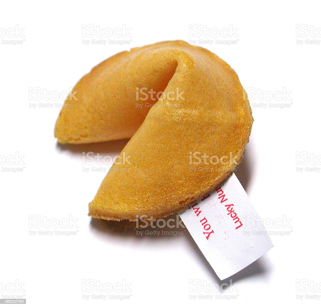 Fortune Cookie 2 royalty-free stock photo