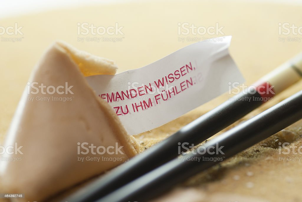 fortune cookie background royalty-free stock photo