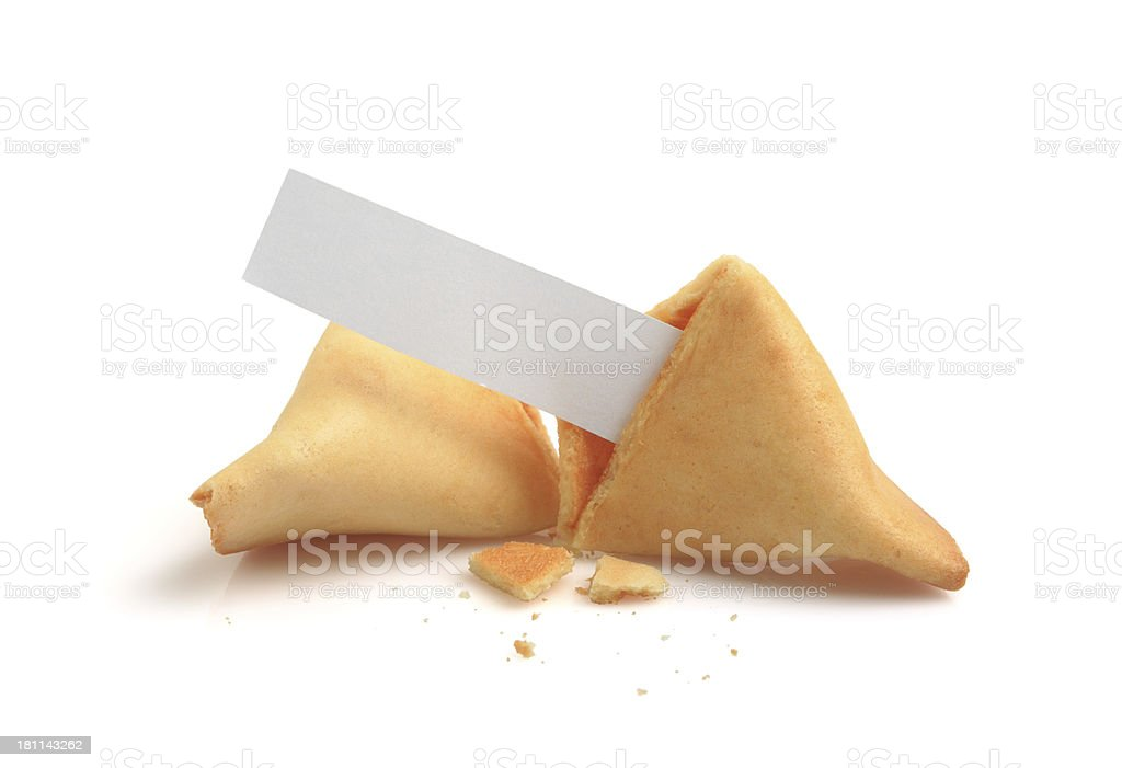 Fortune Cookie XXXLarge royalty-free stock photo