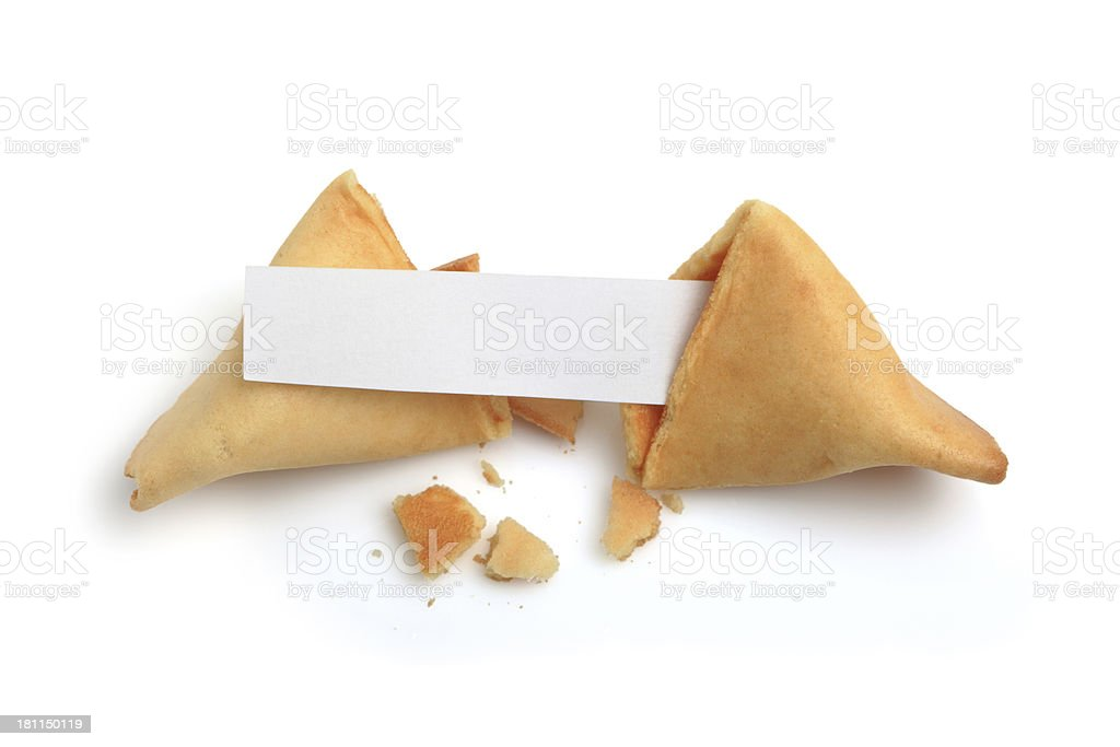 Fortune Cookie XXXLarge stock photo