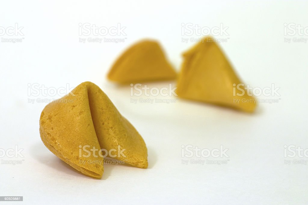 Fortune Cookies 2 royalty-free stock photo