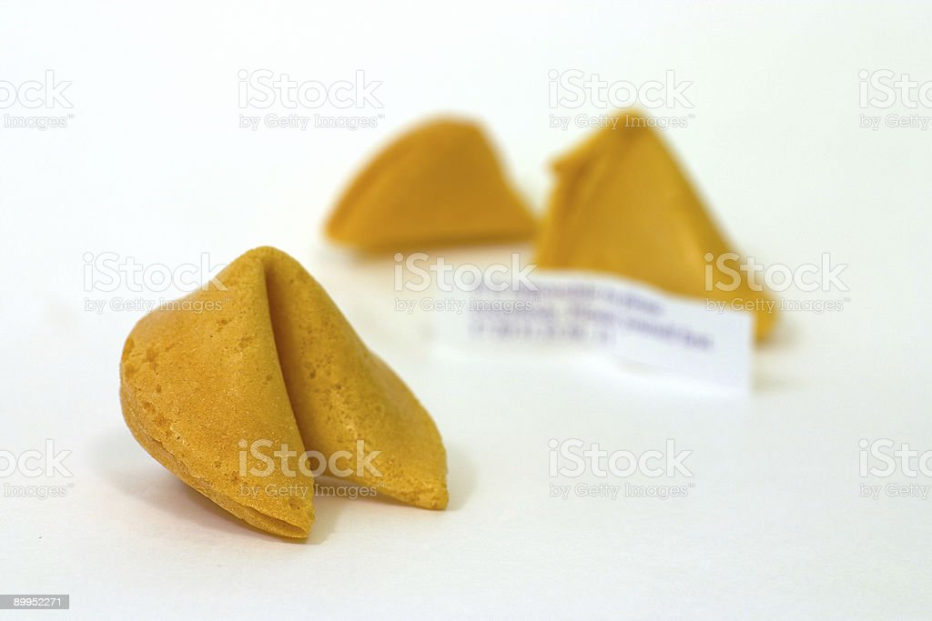Fortune Cookies 3 royalty-free stock photo