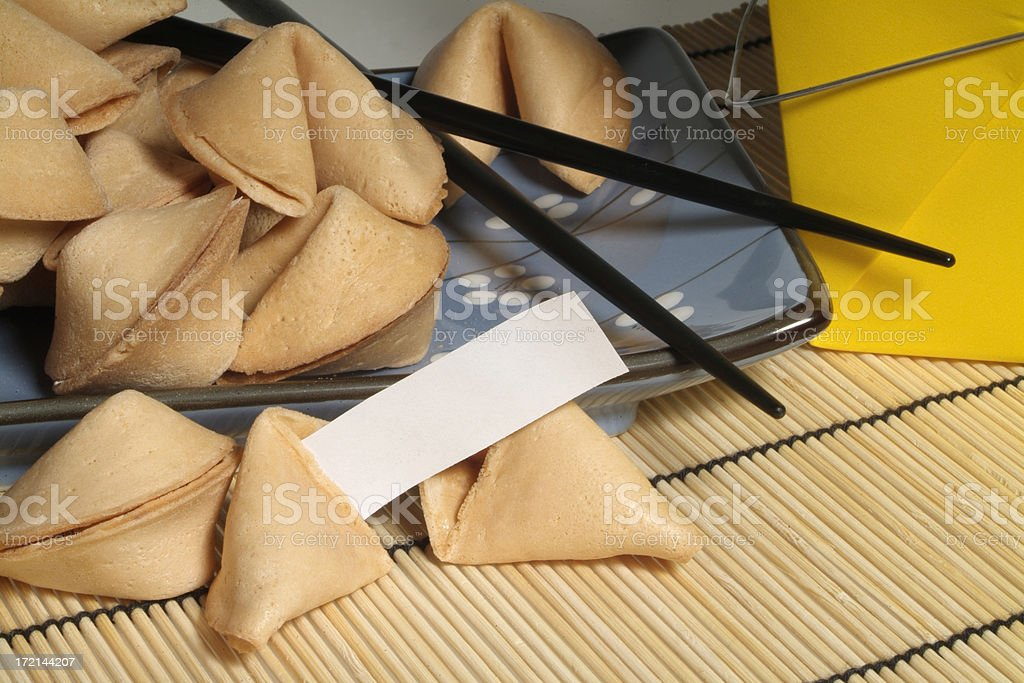Fortune Cookies royalty-free stock photo