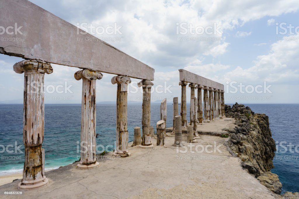 Fortune Island stock photo