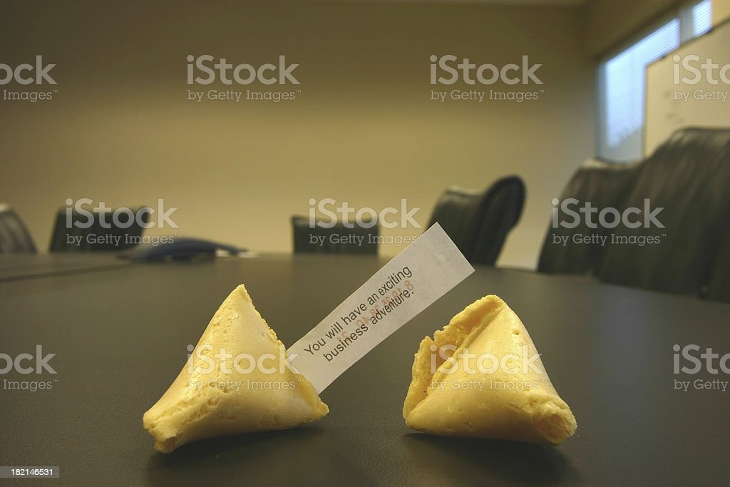 Fortune royalty-free stock photo
