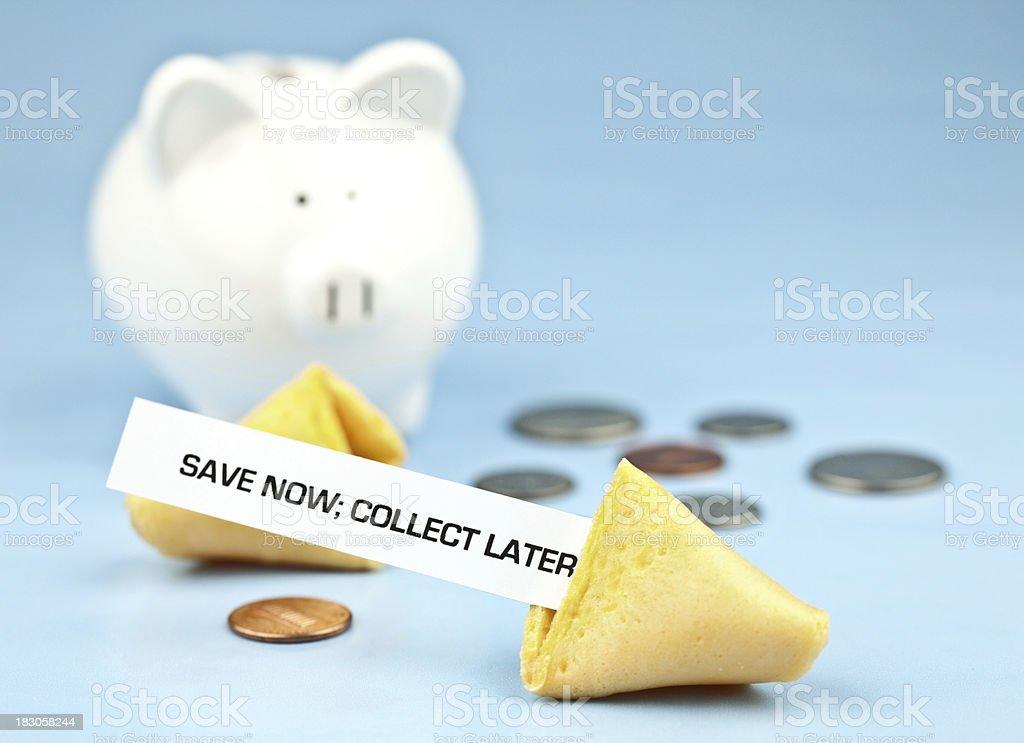 Fortune Series Savings royalty-free stock photo