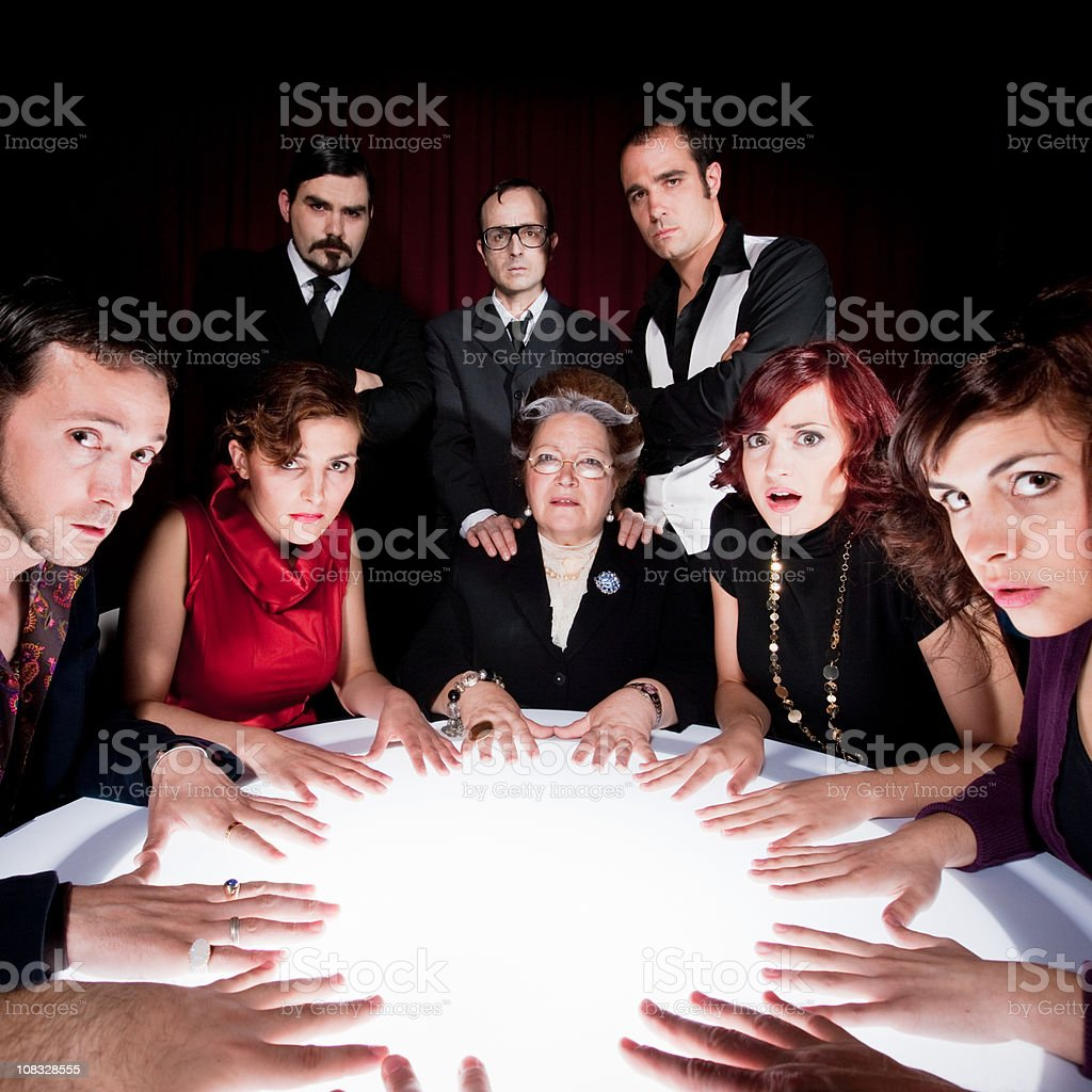Fortune Teller Expectations royalty-free stock photo