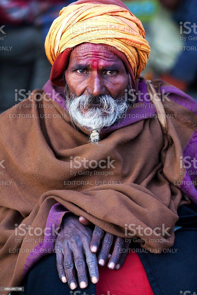 Fortune Teller, Nepal stock photo