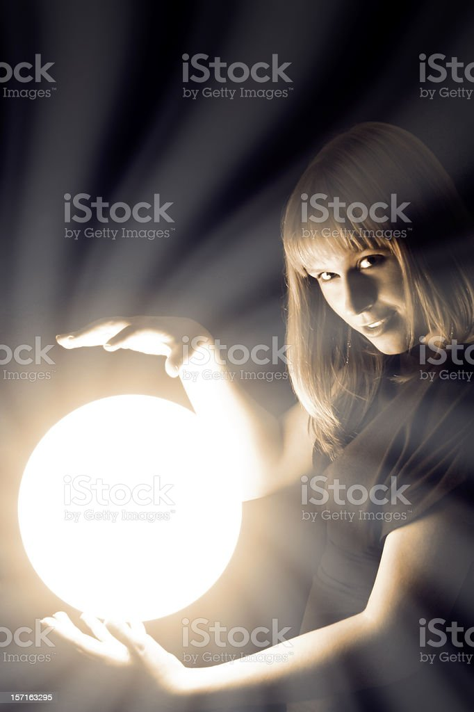 Fortune Teller royalty-free stock photo