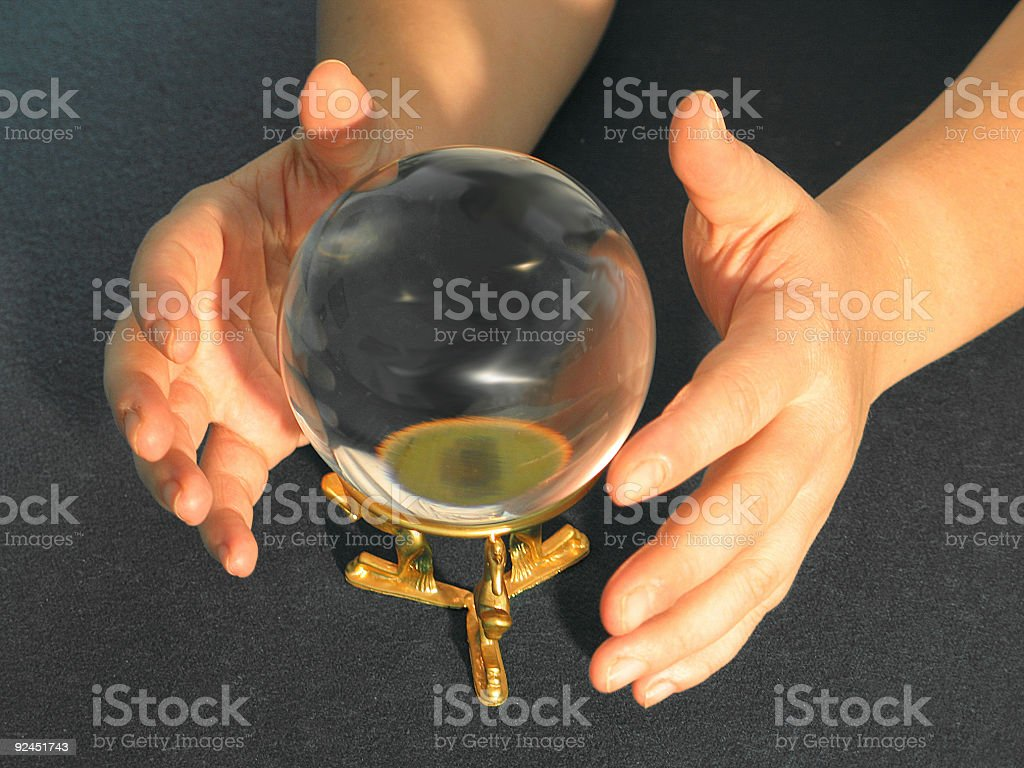 Fortune Teller Side royalty-free stock photo