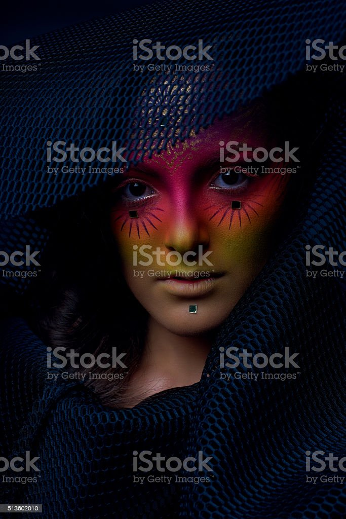 fortune teller woman stock photo