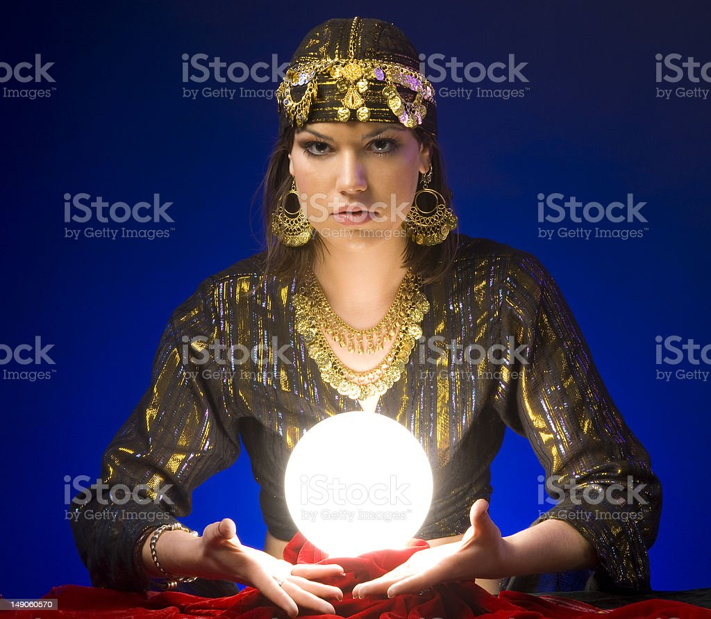 Fortune-Teller royalty-free stock photo