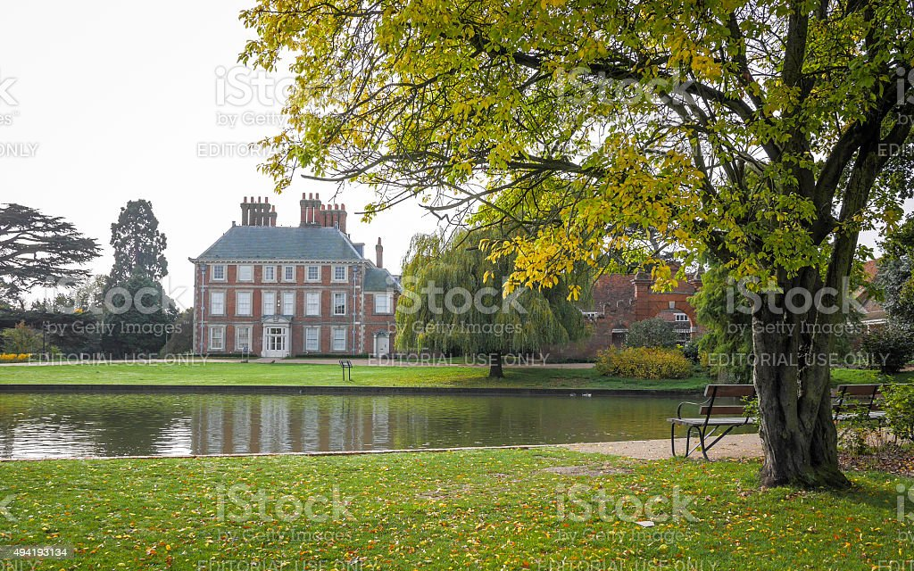 Forty Hall, Enfield, London, UK stock photo