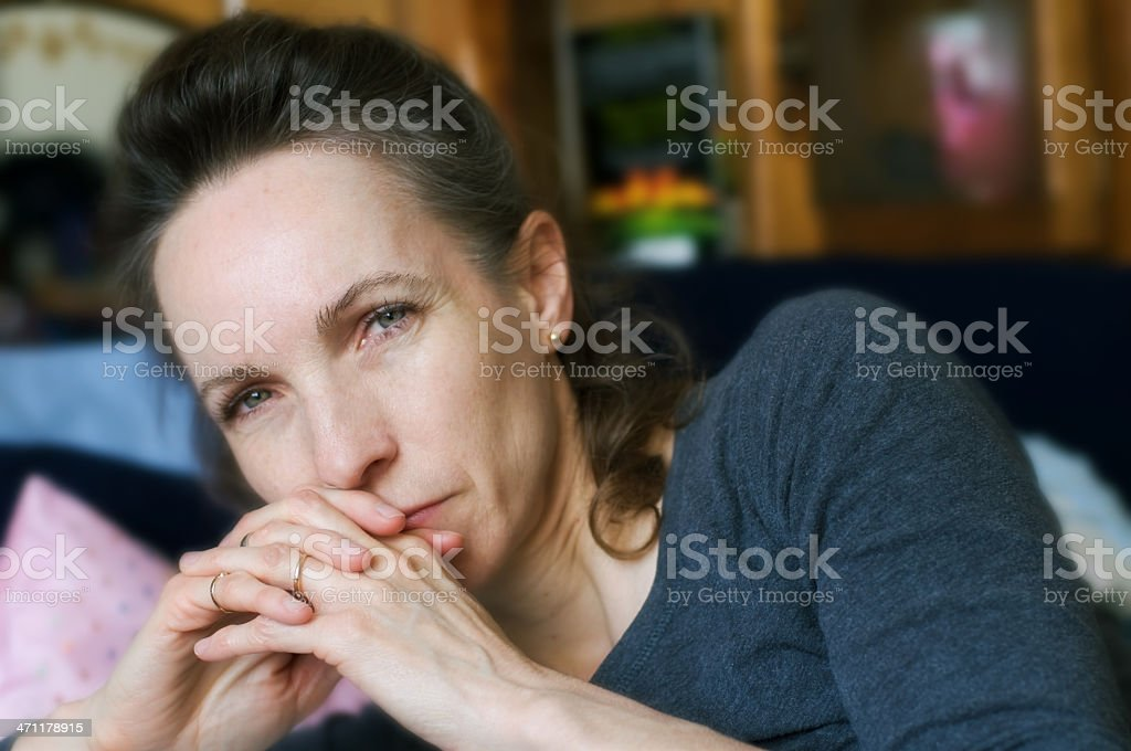 Forty Six Year Old Female royalty-free stock photo