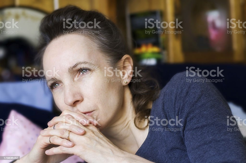 Forty Six Years Old stock photo