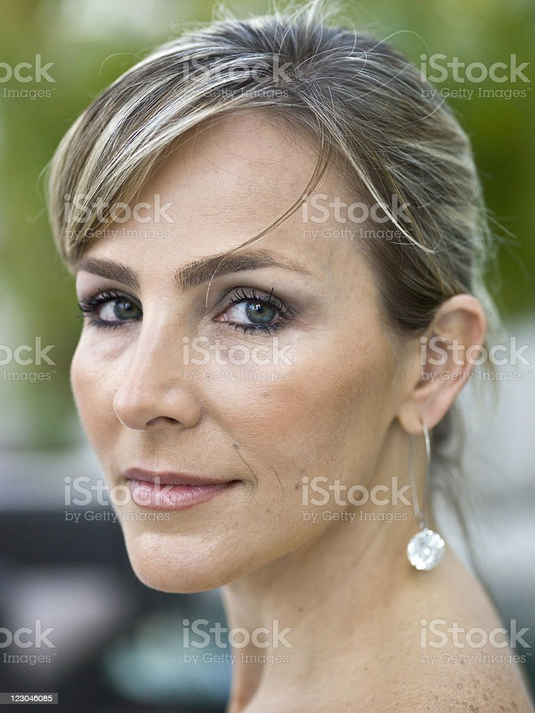 forty something and attractive royalty-free stock photo