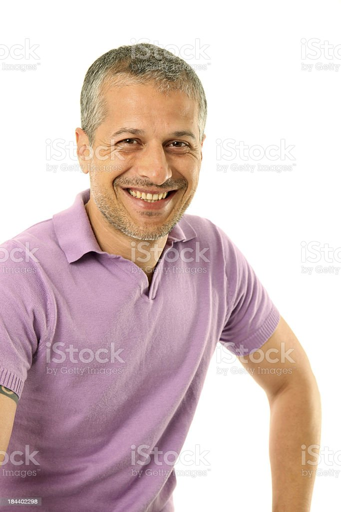 Forty years old male adult stock photo