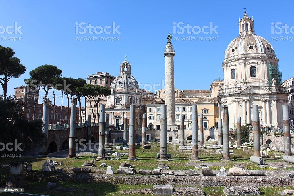 Foro di Roma stock photo
