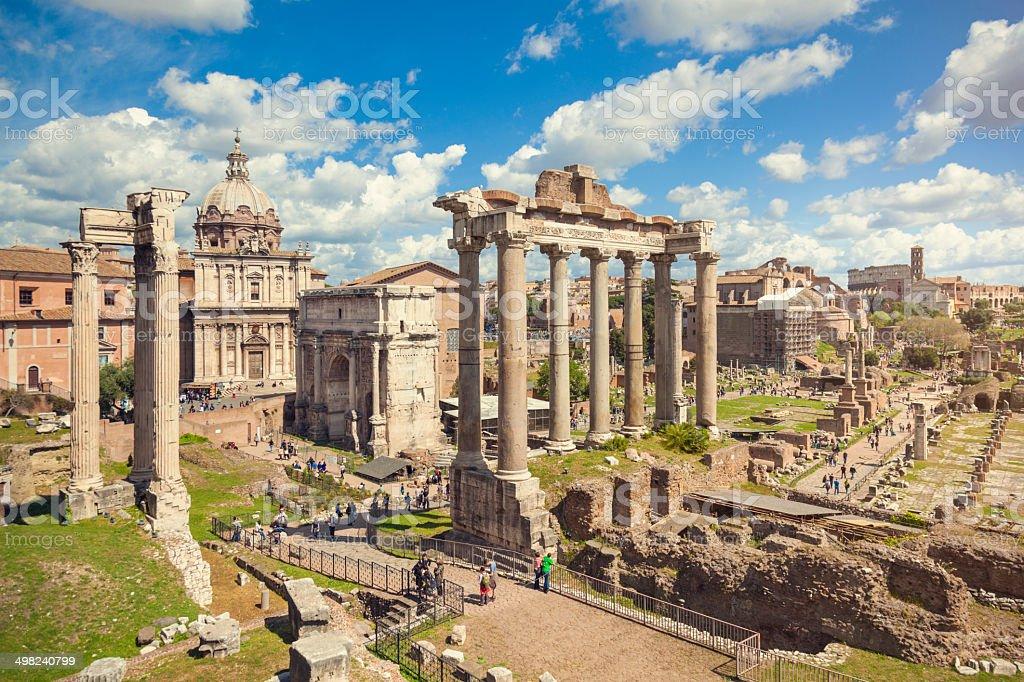 Forum Romanum, Rome royalty-free stock photo