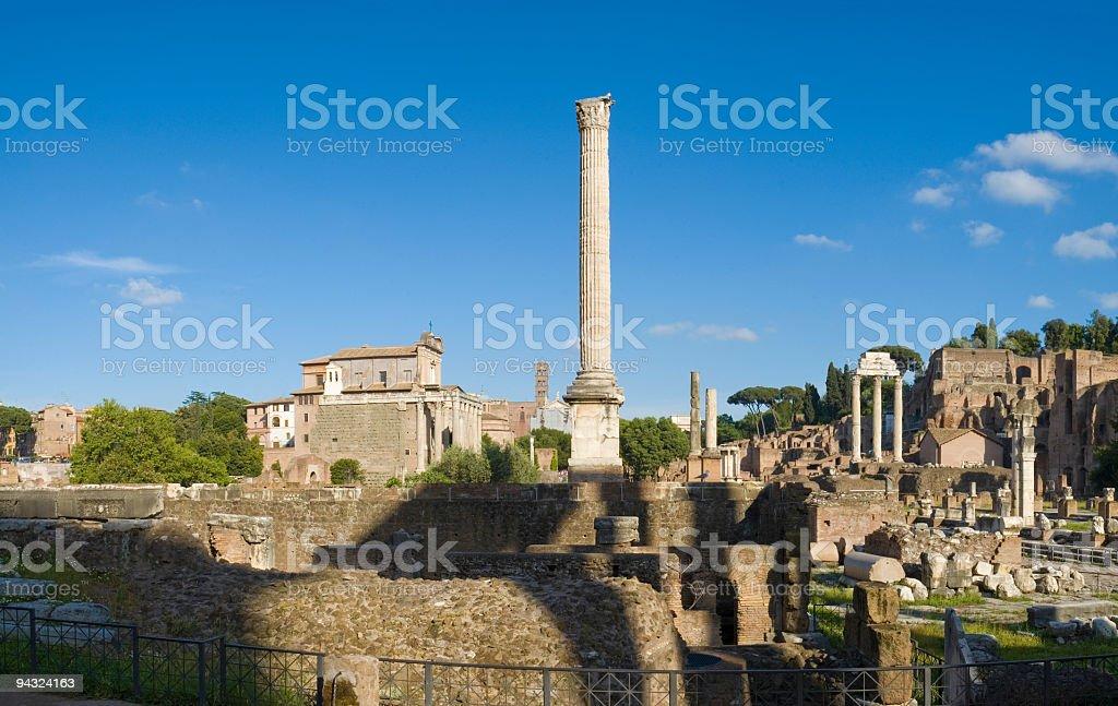 Forum, Rome stock photo