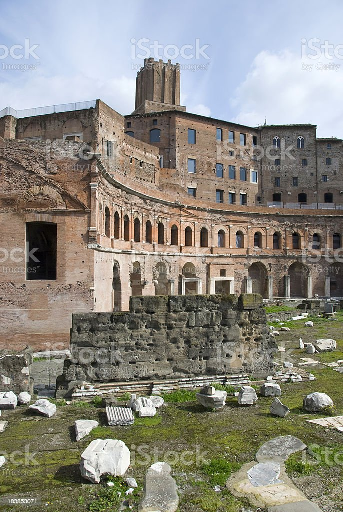 Forum Traiani stock photo