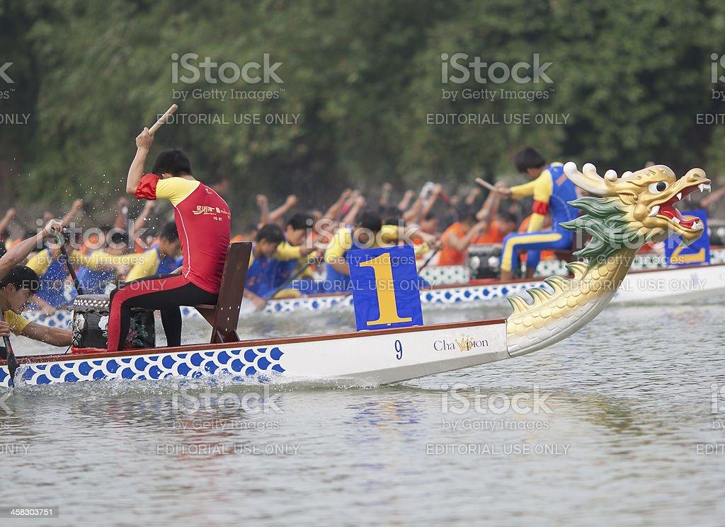 2012  Foshan International Dragon Boat Races royalty-free stock photo