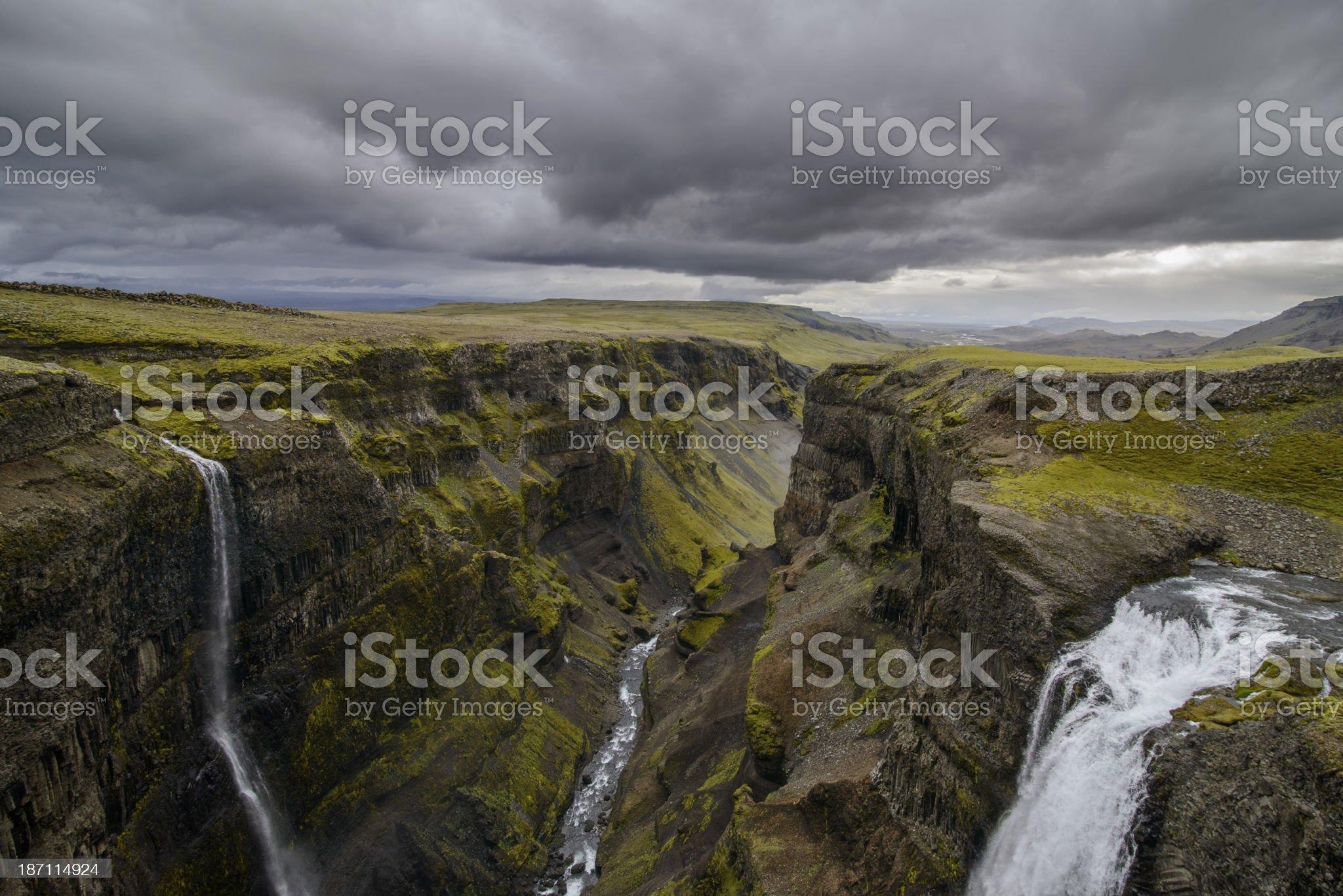 Fossa canyon royalty-free stock photo