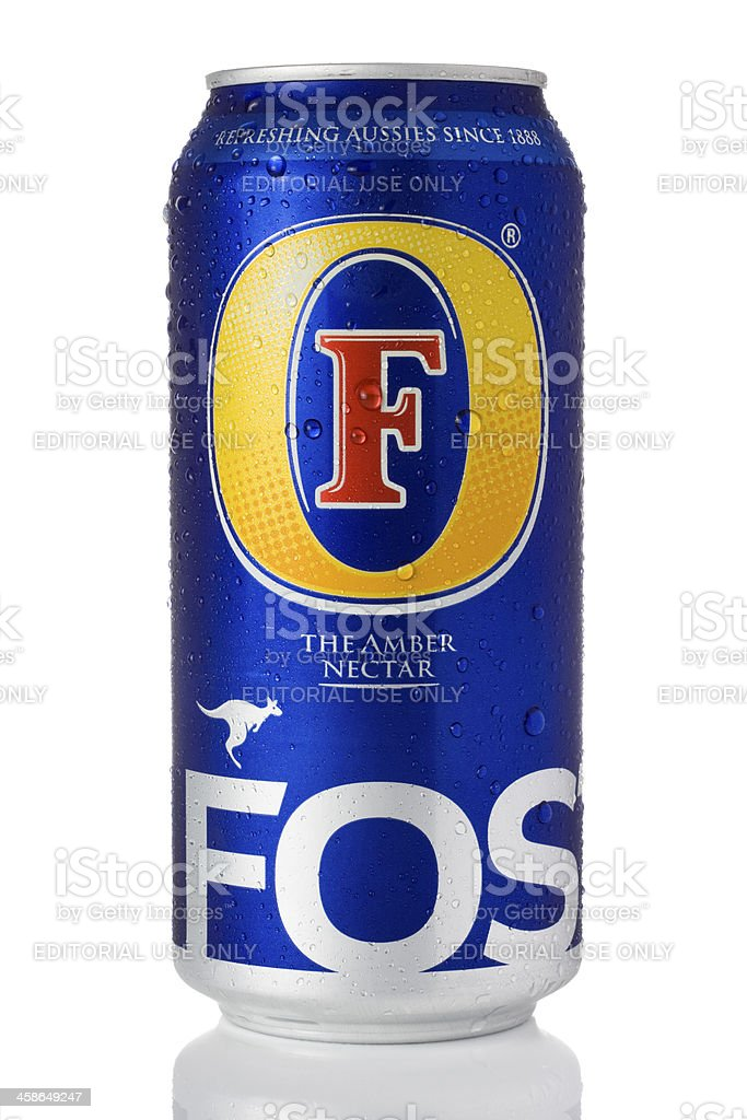 Fosters lager stock photo