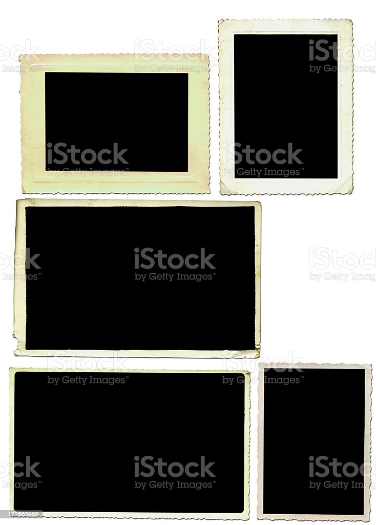 fotoframes2 royalty-free stock photo