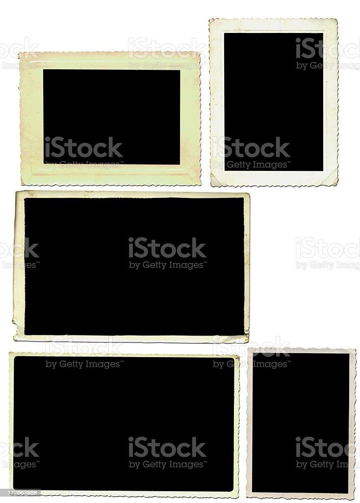 fotoframes2 stock photo