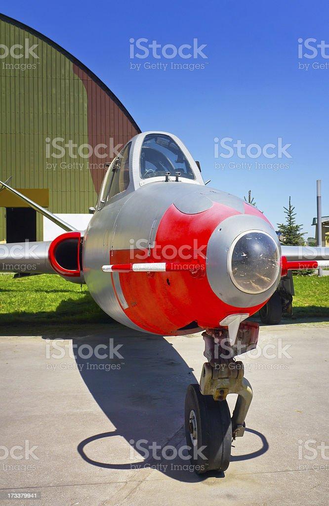 Fouga CM.170 Magister stock photo