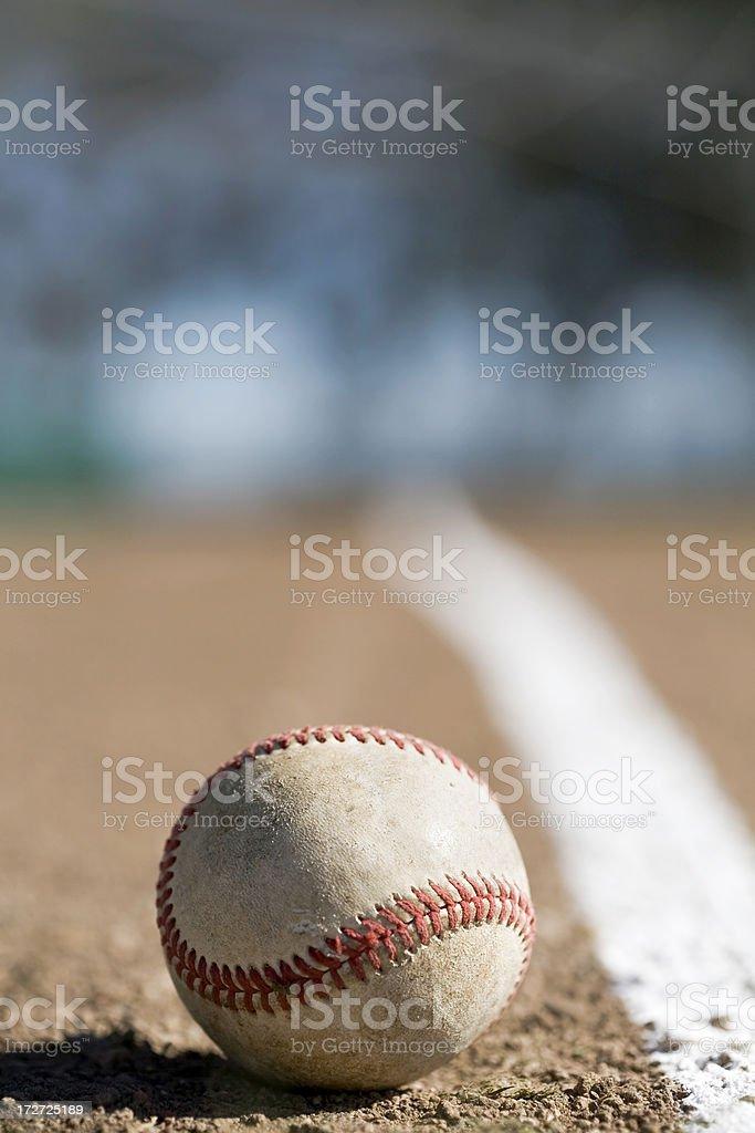 Foul Ball II royalty-free stock photo
