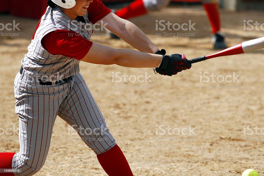 Foul Ball stock photo