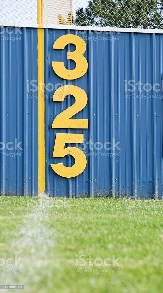 Foul-Linie Lizenzfreies stock-foto