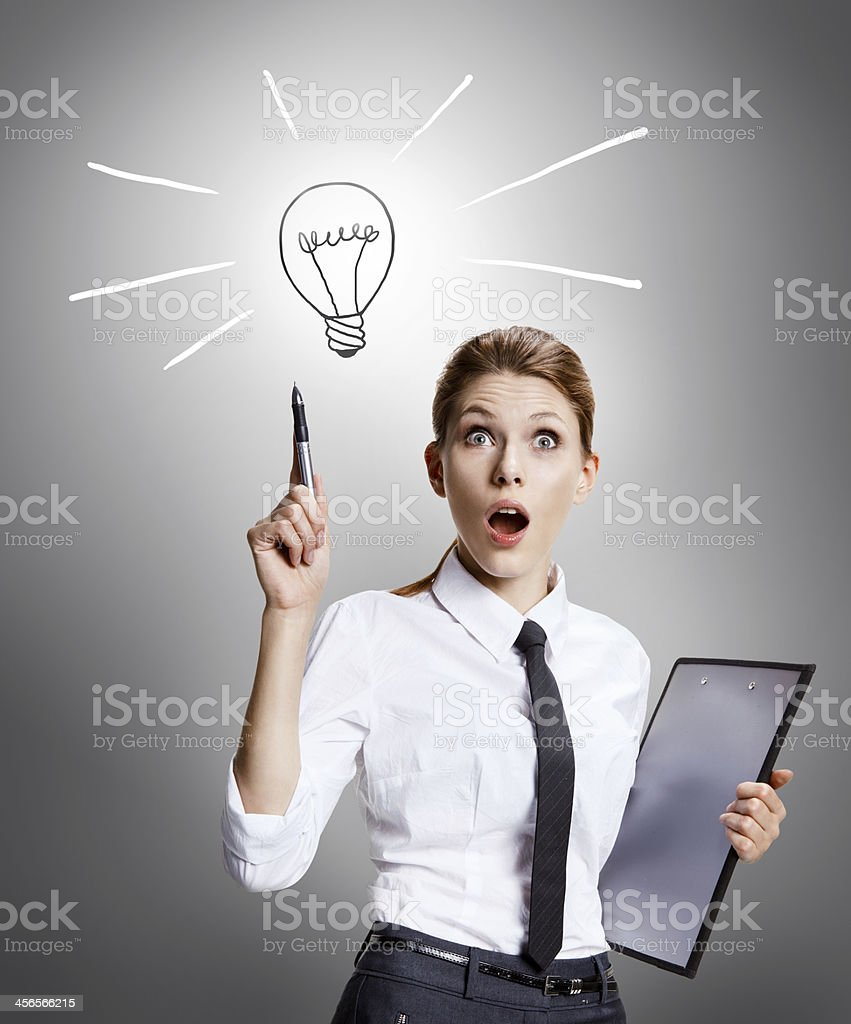 Found a way out stock photo