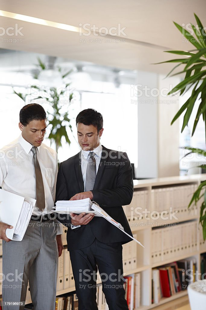 I found an anomaly in these reports... royalty-free stock photo