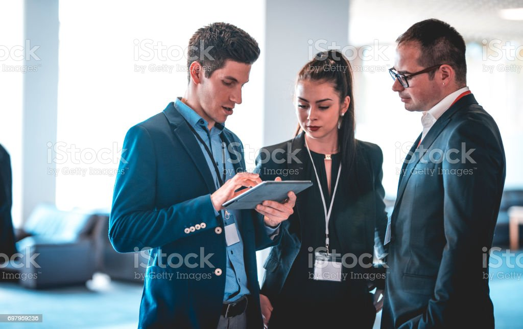 I found some crucial data stock photo