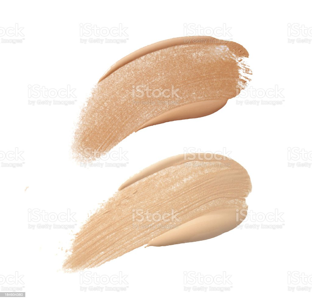 Foundation Color Sample royalty-free stock photo