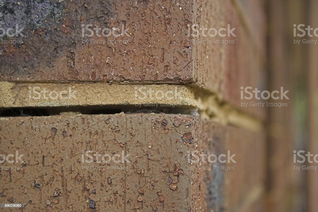 Foundation Damage royalty-free stock photo