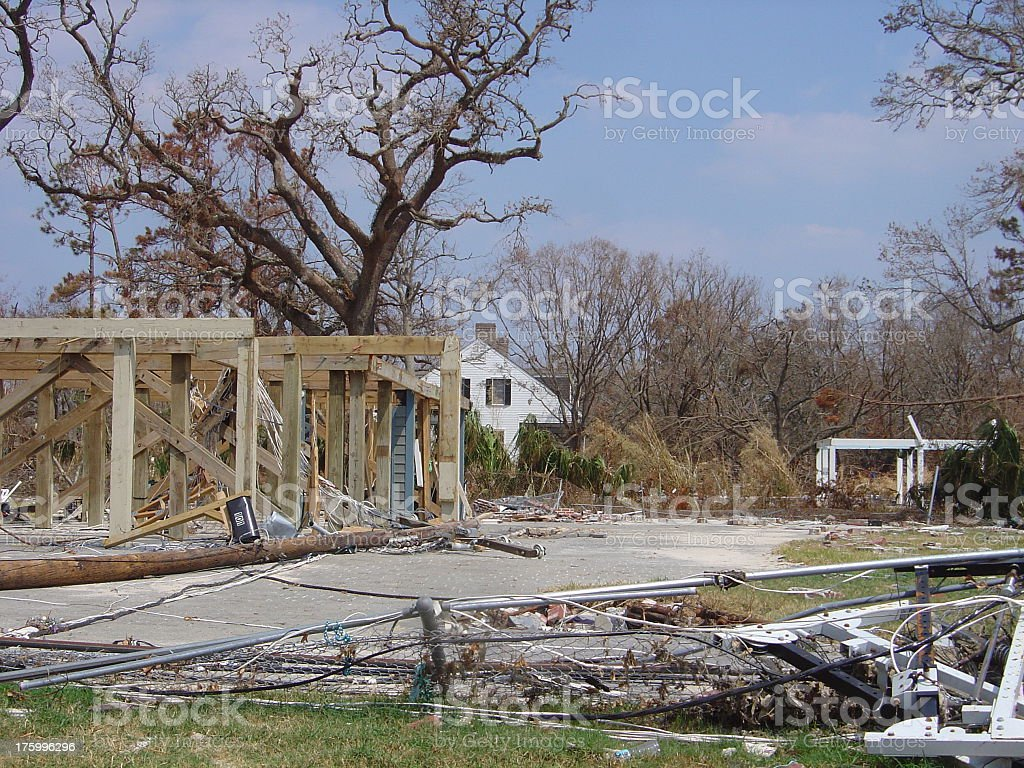 Foundation without Home stock photo