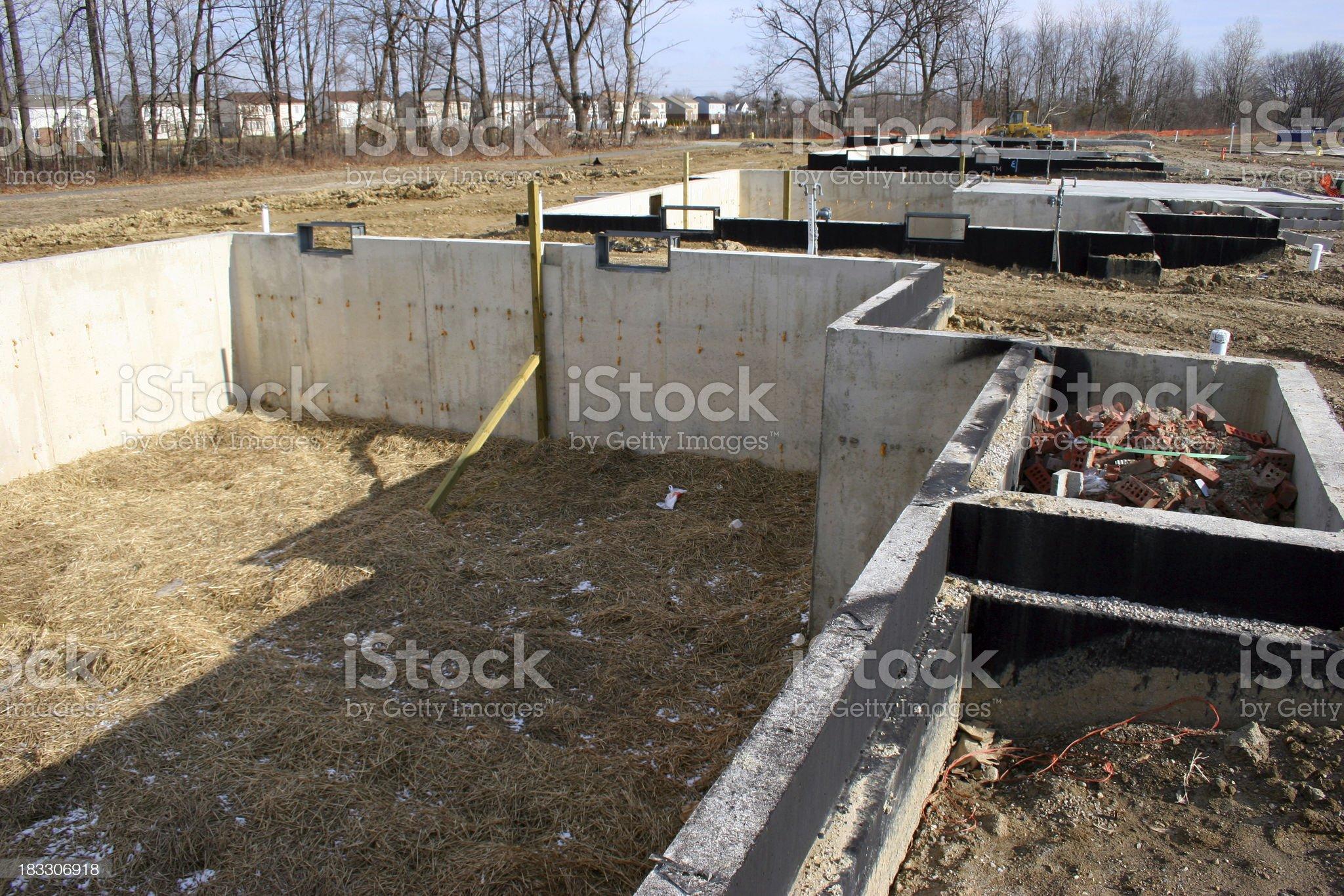 Foundations royalty-free stock photo