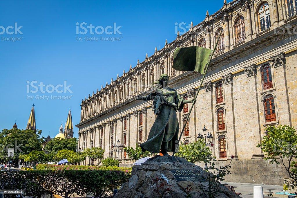 Founders Square - Guadalajara, Jalisco, Mexico stock photo
