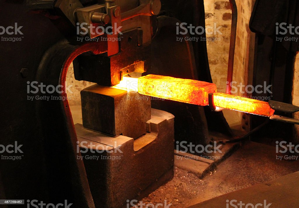 Foundry Forge. stock photo