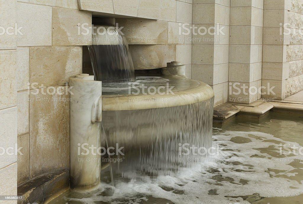 fountain 1 stock photo