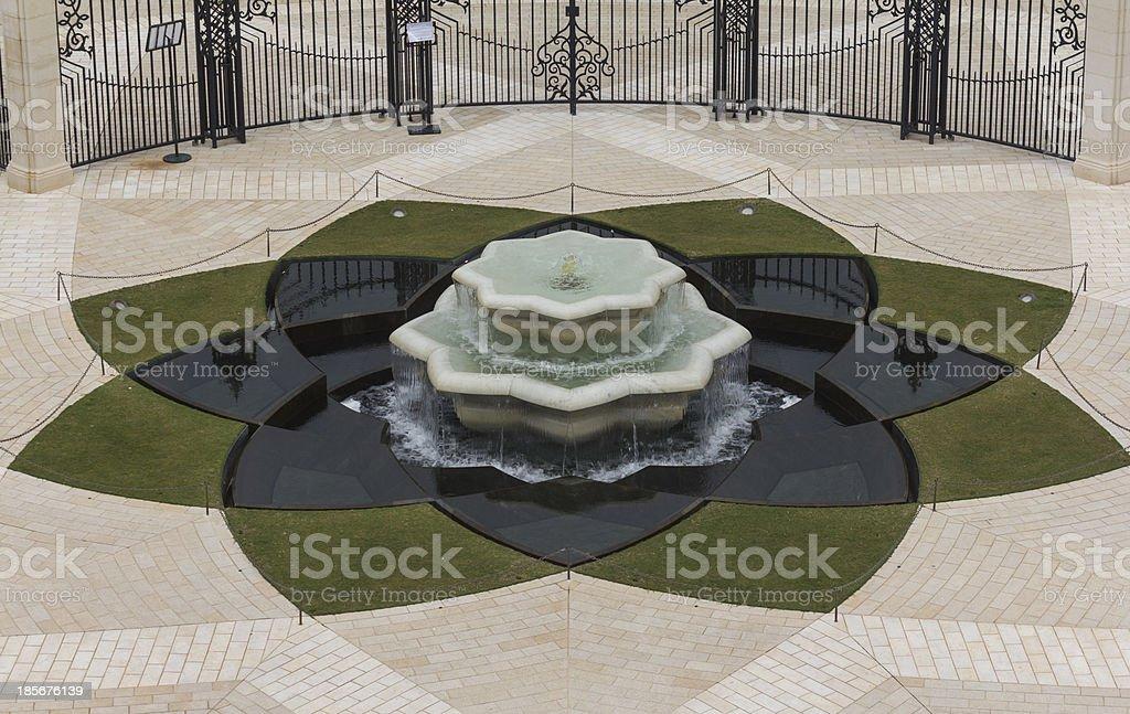 fountain 3 stock photo